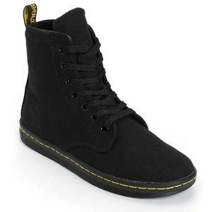Dr. Martens Shoreditch Canvas Boots 7 Hole Black